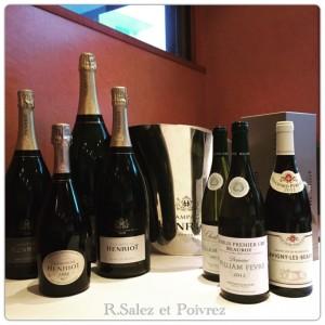 シャンパン・アンリオ、 ウィリアム・フェーブル、ブシャールP&F