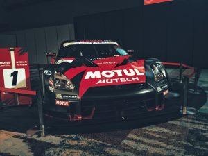 SUPER GT GT500で活躍した NISMOが展示されていました