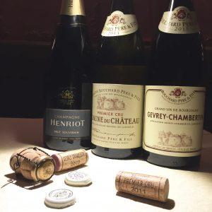 美味しいシャンパンとワインを ご用意しております